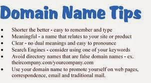 Choosing Domain Name Tips