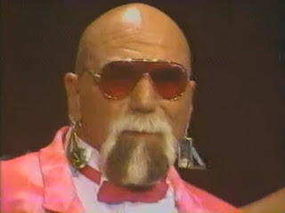 WWF - Slammy Awards 1987 - Superstar Billy Graham won the Hulk Hogan Real American award