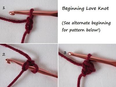 free crochet pattern, fingerless gloves, texting gloves, hand warmers, tutorial, Love Knot, Solomon's Knot