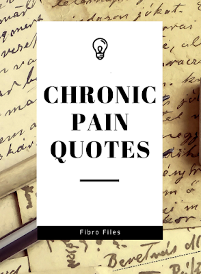 Chronic Pain Quotes