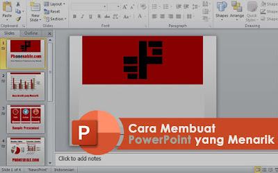 cara membuat powerpoint