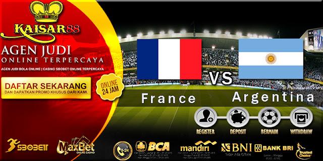 Prediksi Bola Jitu France vs Argentina 30 Juni 2018