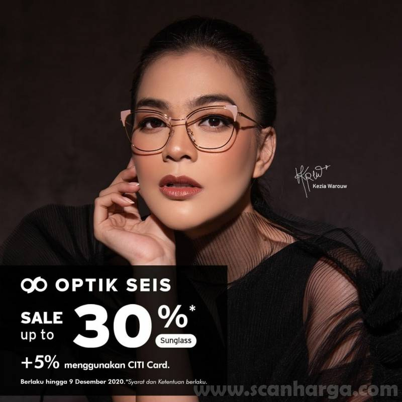 Optik Seis Sale up to 30% + 5% with Citibank Card