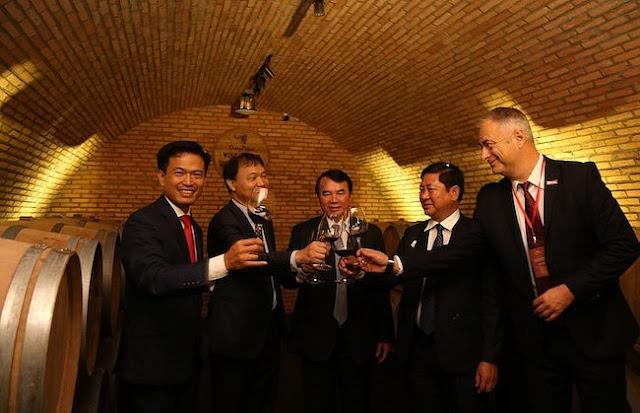 Khám phá hầm vang đỏ chuẩn Châu Âu ở Đà Lạt