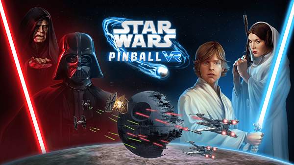 Comparison of Star Wars Pinball VR vs Original