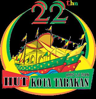 Logo HUT Ke-22 Kota Tarakan - Tarakan Info