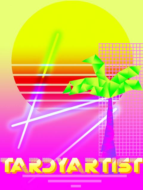 Beau Tardy Artist Poster