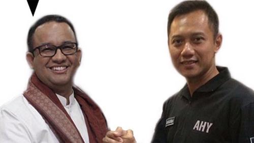 Duet Anies-AHY Bakal Terhalang Hubungan SBY dan Surya Paloh