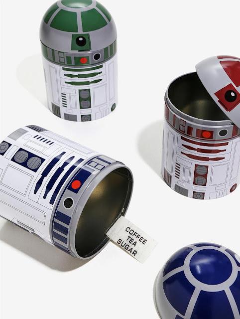 R2-D2 Kitchen Storage Set