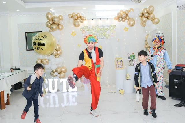 Thuê chú hề sinh nhật tại nhà Hà Nội