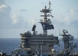 US aircraft carrier back at sea after coronavirus outbreak and captain fired