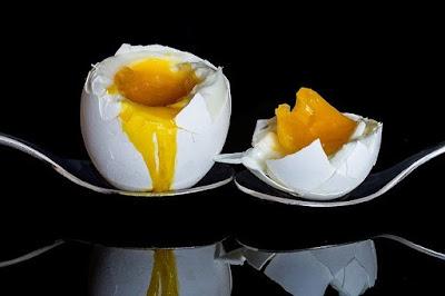 Putih telur rebus