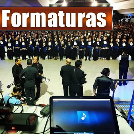 FORMATURAS & COLAÇÃO DE GRAU