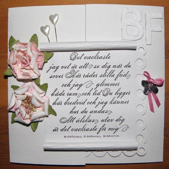 grattiskort bröllop text