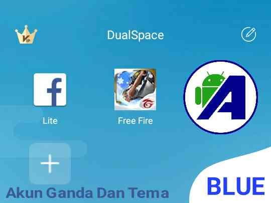 dualspace akun ganda dan tema