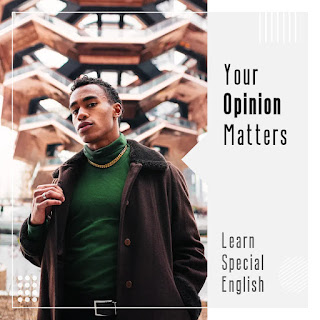 What do you want to learn on Learn Special English website?