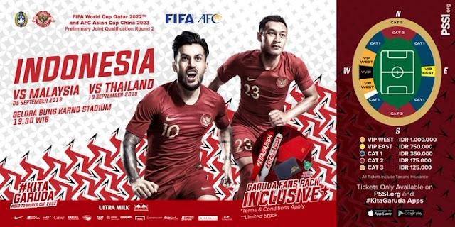 Jadwal Timnas Indonesia - Piala Dunia 2022