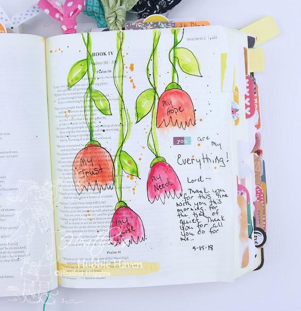Heather's Hobbie Haven - Illustrated Faith Less Hustle More Jesus - Session 2