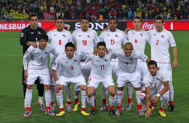 Formación de Chile ante Brasil, Copa del Mundo Sudáfrica 2010, 28 de junio