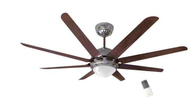 Havells Octet Underlight 1320mm Ceiling Fan (Wenge Brushed Nickel)
