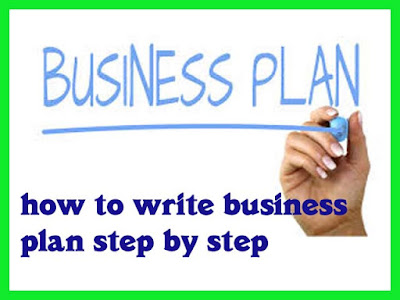 how to write business plan step by step