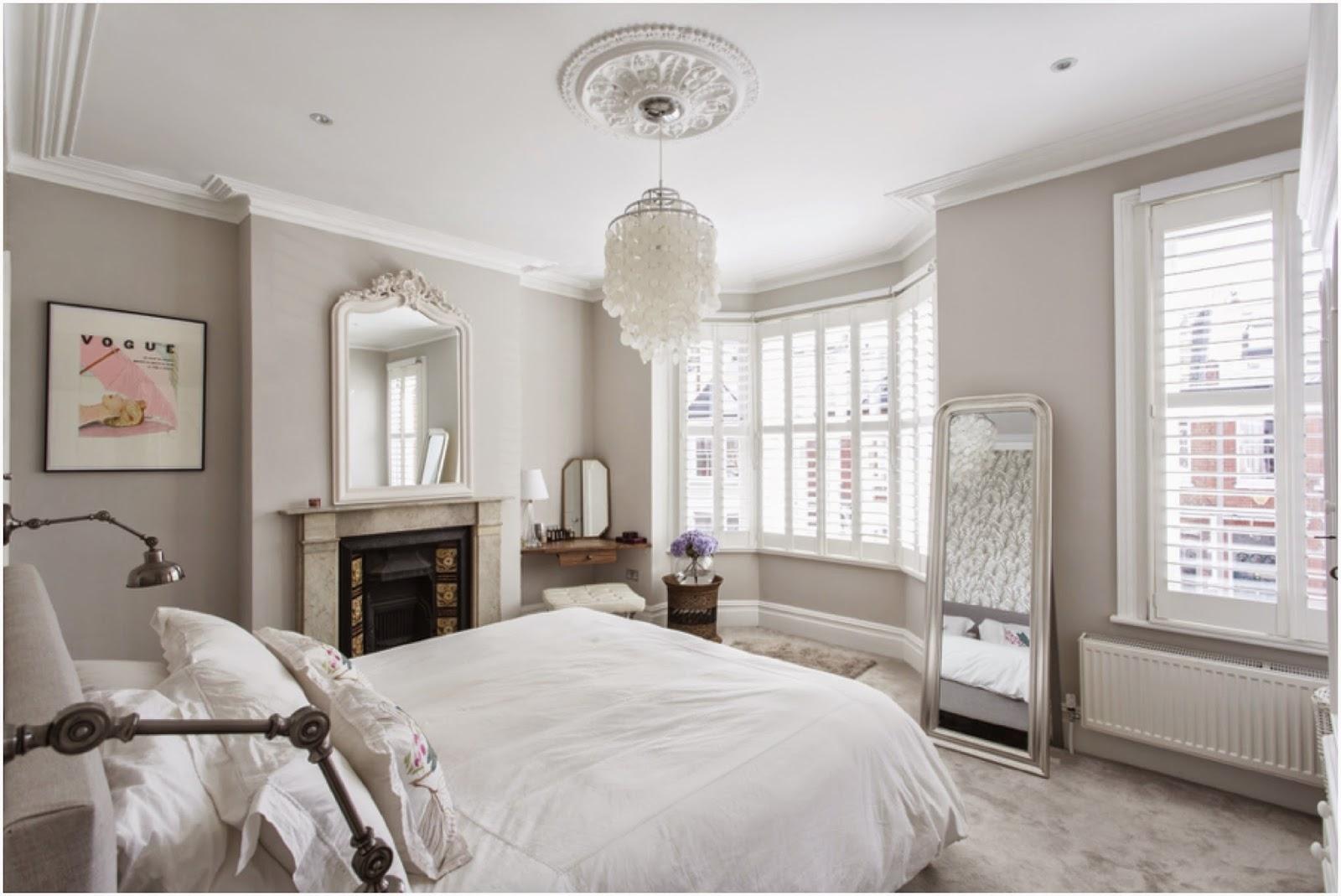 Master Bedroom, Victorian Terrace In London