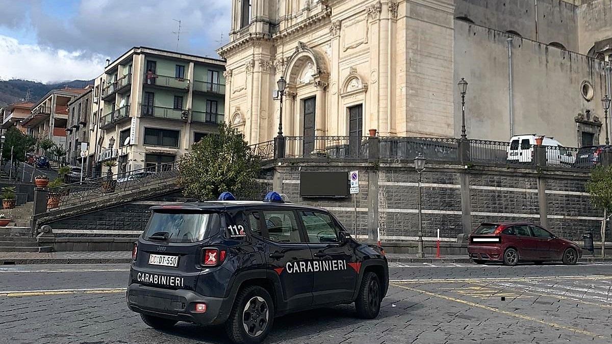 Carabinieri Zafferana Etnea