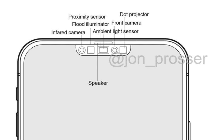 Alleged iPhone 12 layout depicts smaller notch and LiDAR camera