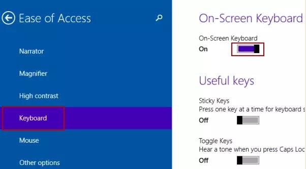 Cara Mengaktifkan On-Screen Keyboard Widows 10-1