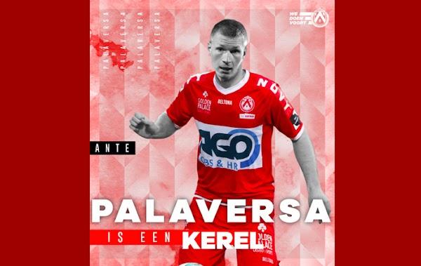 Oficial: Kortrijk, firma cedido Palaversa