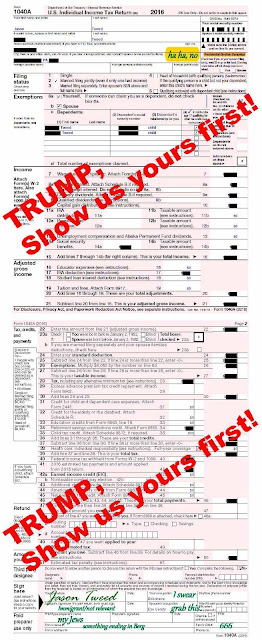 Donald Trump 2016 tax return