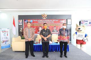 Wali Kota Tarakan Menjadi Narasumber Dalam Dialog dengan Tema Jaga Bansos di Masa Pendemi Covid-19 - Tarakan Info