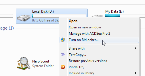 Cara Mengunci Flash Disk Menggunakkan Bitlocker To Go Dinfotekno