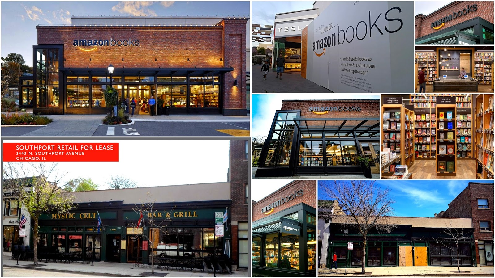 Amazon Books rumored to be coming to Southport'