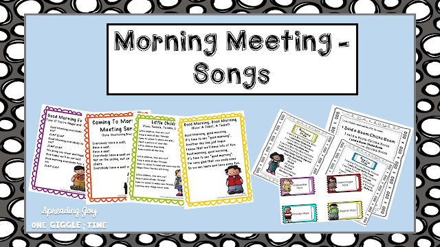 Morning Meeting songs, tips, and tricks to get your day off to a great start!