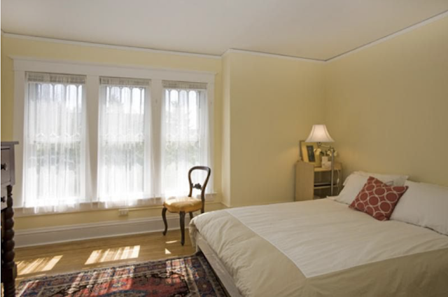 upstairs side bedroom of Sears No 137 at 7 Orchard Street, Mendham, New Jersey