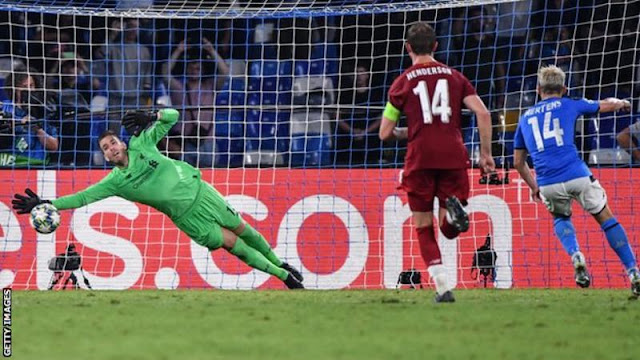 Champions League: Napoli defeat Liverpool