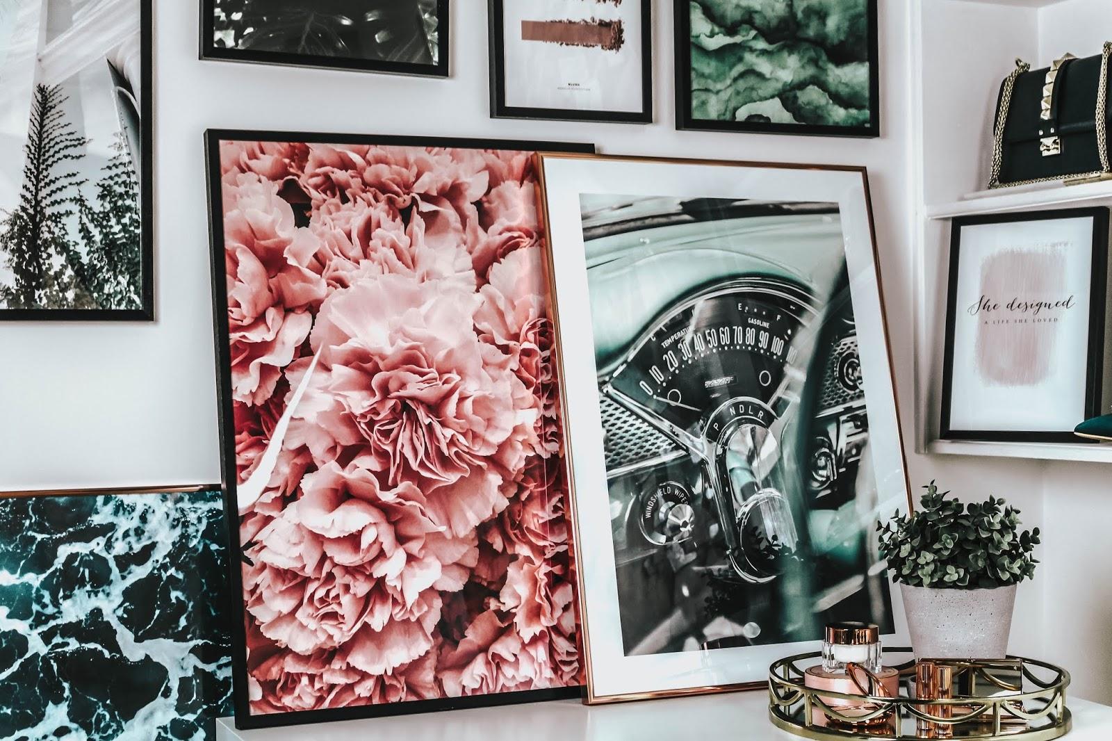 UK Lifestyle Blogger Desenio Collaboration Art Prints 2018