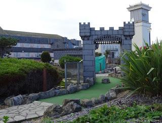 Welsh Dragon Adventure Golf in Rhyl, Wales