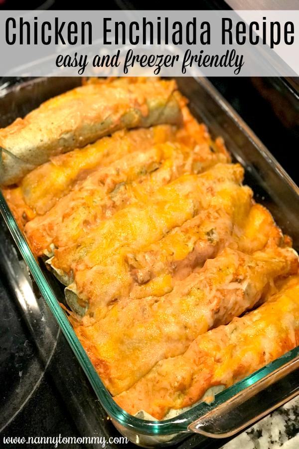 Homemade Mexican Enchiladas Recipe
