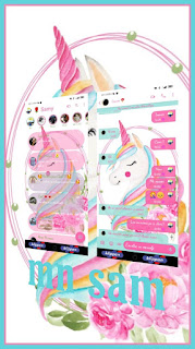Unicornio Theme For YOWhatsApp & Fouad WhatsApp By Samanta