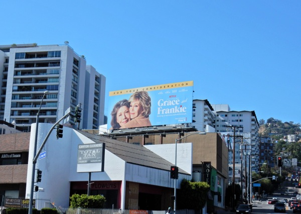 Grace and Frankie season 2 billboard