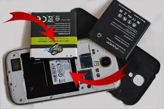 Mobile back panel ke andar dekhe model number