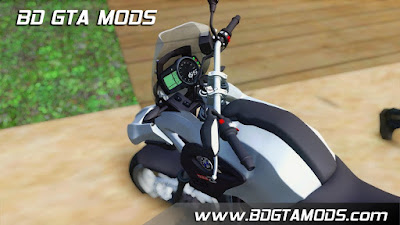 BMW F650GS para GTA San Andreas, GTA SA