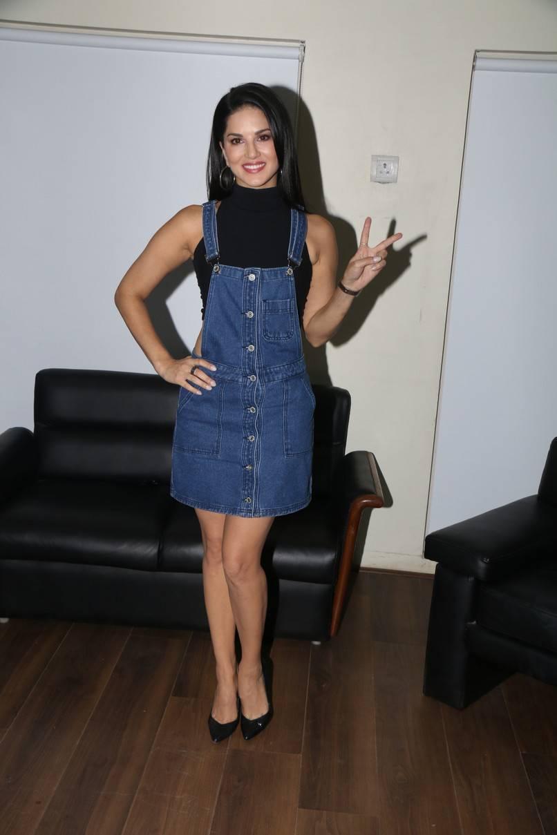 Sunny Leone Stills At T Series Office