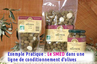 Exemple Pratique : Le SMED dans une ligne de conditionnement d'olives