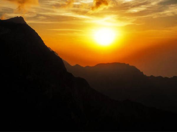 Jebel Jais Location
