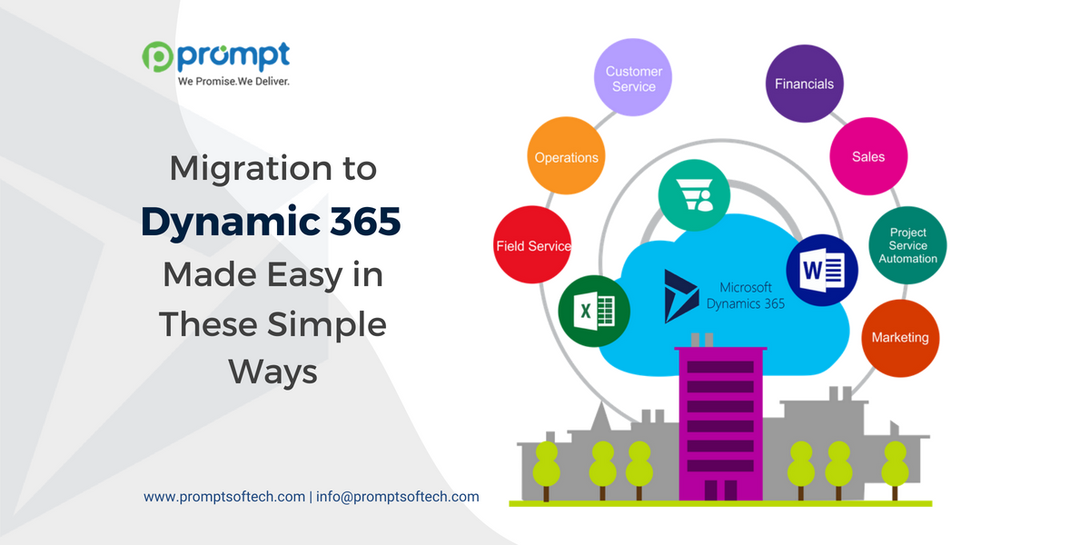 Migration to Dynamic 365 Made Easy in These Simple Ways