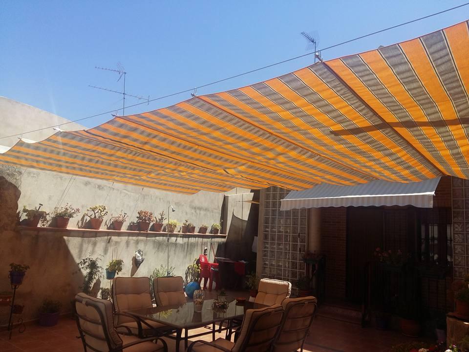 I d e a toldo casero exterior para patio - Toldos para exterior ...