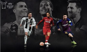 Nominees Revealed For 2018/19 UEFA Player Of The Year Awards